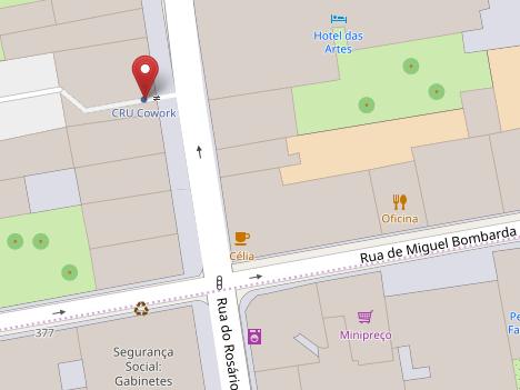 Mapa CRU Cowork